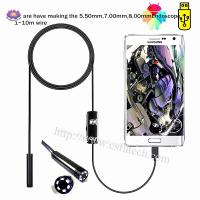 2019 High Quality Cheap Endoscope Camera Flexible IP67 Waterproof Inspection Borescope Camera for Android PC Manufactures