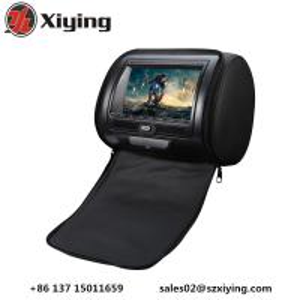China Xiying HD 2x7 Stylish Digital Screen Car Headrest DVD Player with Zipper Cover on sale