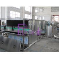 China Electric Sterilizer Bottle Packing Machine System , Engineering Plastic Belt Recycling Tank System for sale