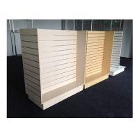 Customized Slatwall Display Units , Store Display Shelving For Sport Clothing Shop Manufactures
