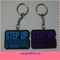 china factory made simple plastic hand keychain in pvc Manufactures