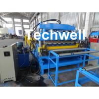 Steel Double Layer Roof Roll Forming Machine / Roofing Sheet Roll Forming Machine Manufactures