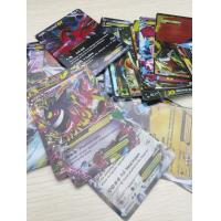 English Pokemon Cards EX Version Shiny POKEMON Trading Cards Toys for children Manufactures