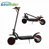 2 Wheel Electric Foldable Electric Scooter 2000w Brushless Motor With Double Battery Manufactures