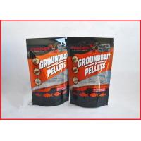 Printed Plastic Pouch Packaging With Zipper For Groundbait Pallet / Fishing Lure Packaging Bag With Ziplock Manufactures