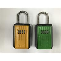 Quality Rust Free Strong Zinc And Aluminum Alloy Body Door Key Lock Box Black & Yellow for sale