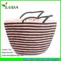 leather handels wheat straw handbags Manufactures