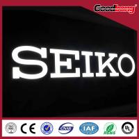 Quality Customized Advertising Vacuum Forming Plastic Letters, outdoor channel letter signs for sale