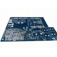 Blue Soldermask Electronics Circuit Board , Flex PCB Prototype With Immersion Gold Manufactures