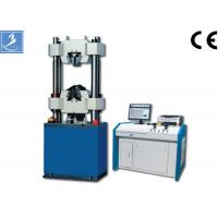 China Hydraulic Tensile Universal Testing Machine With Computer Control 600KN Max Test Force on sale