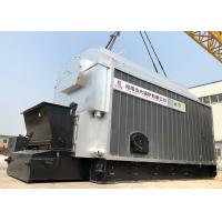 China Industrial 4 Ton Wood Coal Fired Steam Boiler Automatic Coal Feeding on sale