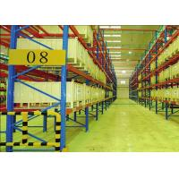 Adjustable Industrial Storage Racks Heavy Duty Pallet Shelving Vertical Type Manufactures