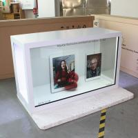 Custom Made Transparent LCD Screen For Advertising 500 Nits Brightness Manufactures