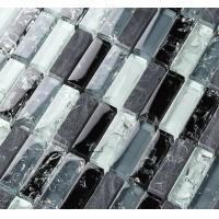 Buy cheap New Best Selling  Atpalas Sourttain Glass Mix Stone Mosaic Tile AGL7016 from wholesalers