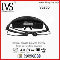 China 52inch virtual screen cheap video eyewear glasses with AV input for iphone, ipod, game cube on sale