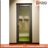 Multi Color Aluminium Hinged Doors With Powder Coated Surface Treatment Manufactures