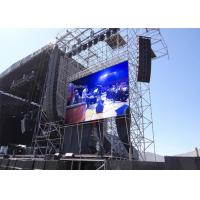 High Color Fidelity Pitch 6mm Led Screen , Jumbo Led Screen On Rent Manufactures