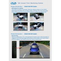 Front And Rear Birds Eye View Car Camera 3d Rotation For Starting , 1080P Manufactures