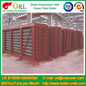 Power Station Boiler Electric Water Boiler Spare Part LPG Industry Boiler Economiser Manufactures
