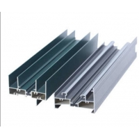 China 6063 T5 T6 Bathroom Sliding Glass Aluminium Alloy Door And Window on sale