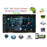 China Full Touch Android Double Din Double Layer With 6.5 Inch Digital Screen on sale