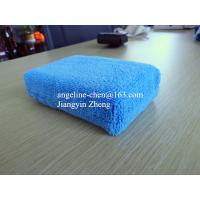China microfiber car cleaning, house cleaning sponge on sale