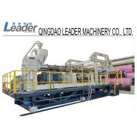 Multilayer HDPE PE Sheet Extruder Machine With One Screw Design , High Efficiency Manufactures