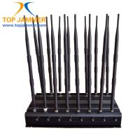 China 16 Antenna Full Bands Desktop Jammer Blocker Isolate GSM 3G 4G Wimax UHF VHF Lojack Signal on sale