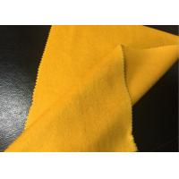 New  fashion yellow 600g/m 60%W  woven  Woolen Fabric Manufactures