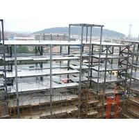 Prefabricated Multi Storey Steel Frame ConstructionLarge Span For Office Manufactures