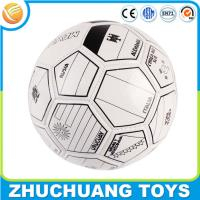 China diy kids learning leather pu soccer ball size 4 on sale