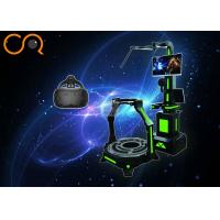 Video Game Virtual Reality Treadmill 32'' Screen With Oculus Glasses Manufactures