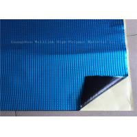 White Square Vibration Damping Mat / Pads For Noise Insulation Fire - Resistance Manufactures