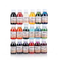 Air Brush Paint Body Water - Based Liquid Ink For Temporary Tattoo 18 Colors Manufactures