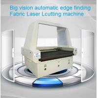 Big Vision Automatic Edge Finding Laser Cutting Machine for digital printed sublimation textile fabrics Manufactures