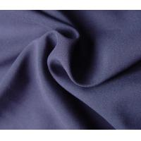 Quality Purple 100% Polyester Woven Fabric 78 Gsm Customized Color Eco - Friendly for sale