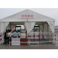 Large Outdoor Commercial Tent For Trade Show , 6 X 20 Canopy Tent Manufactures