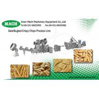 hot quality automatic fried corn bugle snacks production line Manufactures