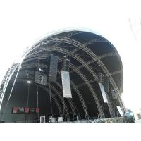 Large Arc Stage Truss Alloy Aluminum Tube For Concert Performance Manufactures