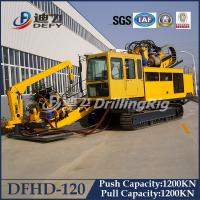 120T Horizontal Directional Drilling rig HDD machine Rig DFHD-120 Manufactures