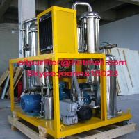 Phosphate Ester Fire-resistant hydraulic oil Purifier Machine, Hydraulic oil Recycling Plant with stainless steel body Manufactures