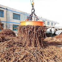 China Excavator Magnet Lifting Electromagnet Permanent Magnetic 2 Tons 900mm Diameter on sale