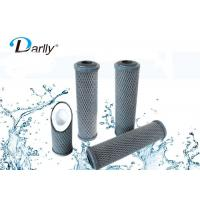 68mm 10 Activated Carbon Filter Cartridge , Carbon Block Water Filter Cartridge Manufactures