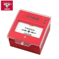 Conventional fire alarm 24V two wire bus manual call point,resetable Manufactures
