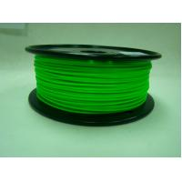 Quality Green Low Temperature 3D Printer Filament , 1.75 / 3.0mm PCL Filament for sale