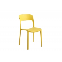 China Colourful 83cm 0.288CBM Molded Plastic Chairs For Home on sale