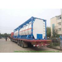 BDP Heating Insulated ISO Tank Container Stanless Steel 20FT For Bisphenol-A Bis Manufactures