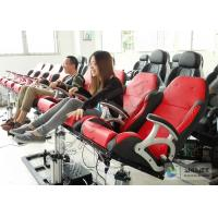 Electronic Dynamical 4D Cinema Equipment With 100 Seats in Red Manufactures