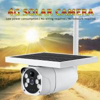 China HD 1080P Security 4G Solar Camera, battery and Solar Panel All in One CCTV Outdoor Wireless SIM Card IP Camera on sale