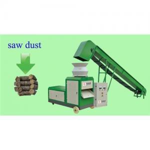 Saw dust wood waste briquette press machine Manufactures